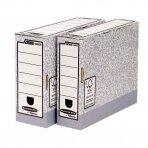 Archyvinė dėžė FELLOWES, 260 x 100 x 315 mm, pilka balta