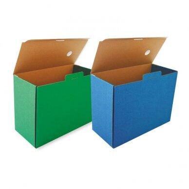 Archyvinė dėžė SMLT, 250 x 150 x 340 mm, žalia
