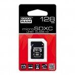 Atminties kortelė microSDHC class 10 UHS I 128GB + adapteris