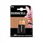 Baterija  DURACELL 9V, LR61, 1 vnt.
