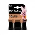 Baterijos DURACELL AA, LR06