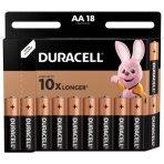 Baterijos DURACELL AA, LR6 18 vnt.