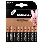 Baterijos DURACELL AAA, LR06 18 vnt