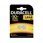 Baterijos DURACELL LR44 1.5V Alkaline, 2 vnt.