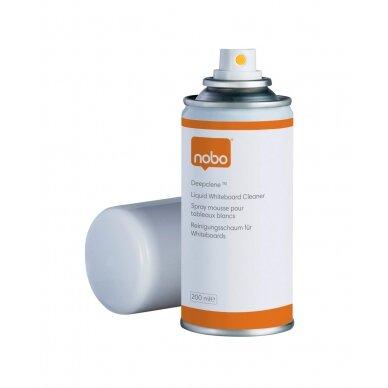 Baltų lentų valymo skystis NOBO DEEP CLEAN, intensyvaus valymo, purškiamas, 150 ml