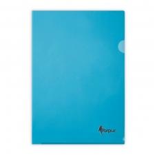 Dėklas dokumentams FORPUS , A4, L formos, 180 mikr., (pak. -100 vnt.), įvairių spalvų