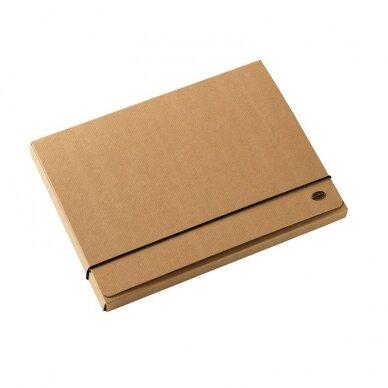 Dėklas - dėžutė MULTO KRAFT, A4, 20 mm, kartoninis