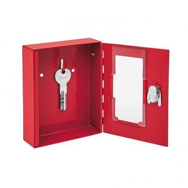 Dėžutė avariniam raktui WEDO, raudona sp. 2