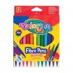 Flomasteriai COLORINO, 12 spalvų, 1 vnt.