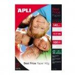 Foto popierius APLI BEST PIRCE, A4, 140 g/m2, 100 lapų