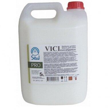 Grindų priežiūros ir blizginimo priemonė VICI, 5 L