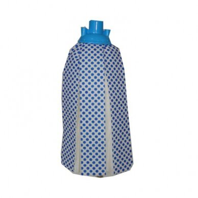 Grindų šluostė su sriegiu, abrazyvinis paviršius, mėlyna sp., 120 g