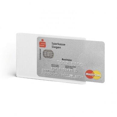 Įdėklas kortelėms DURABLE, su RFID apsauga (pak. - 3 vnt.) 2