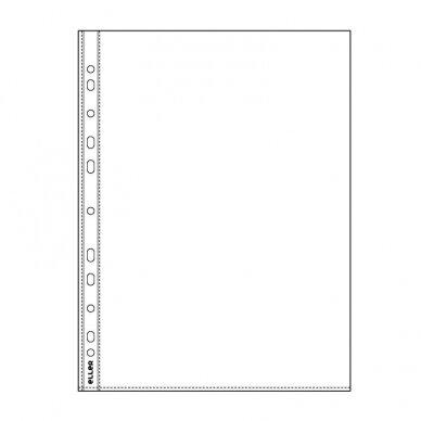 Įmautės dokumentams ELLER, 40 mikr., (pak.-100 vnt.), skaidrios