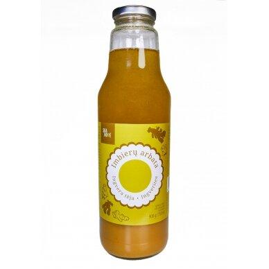 Imbierų arbata SKANOVĖ, 900 g / 750 ml