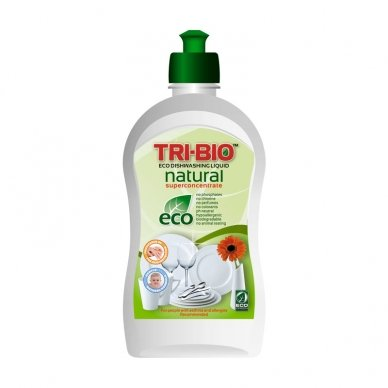 Indų ir rankų plovimo priemonė TRI-BIO, 420 ml