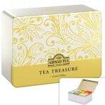 Juodosios ir žaliosios arbatos rinkinys AHMAD CHEST FOUR, 60 pak. x 2 g