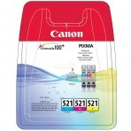 Kasetė Canon CLI-521 CMY 505 psl. OEM