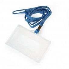 Kabinama vardinė kortelė ARGO, su mėlynu dirželiu