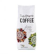 Kavos pupelės TUO D'ORO, 100% Arabica, 1 kg