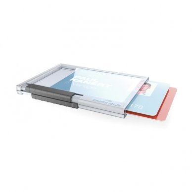 Kabinamas dėklas magnetinei kortelei DURABLE PUSHBOX DUO, 10 vnt./pak. 3