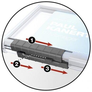 Kabinamas dėklas magnetinei kortelei DURABLE PUSHBOX TRIO, 10 vnt./pak. 2