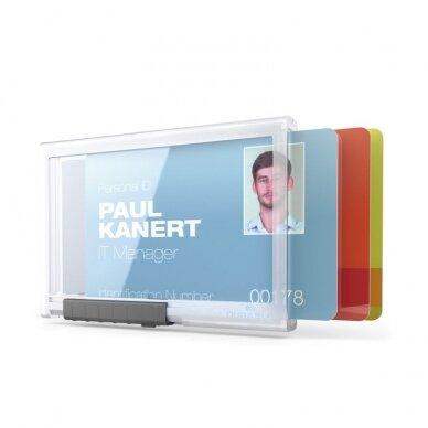 Kabinamas dėklas magnetinei kortelei DURABLE PUSHBOX TRIO, 10 vnt./pak. 3