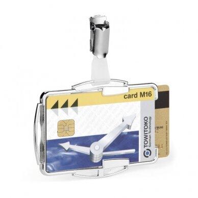 Kabinamas dėklas magnetinei kortelei DURABLE RFID SECURE DUO, 10 vnt./pak. 2