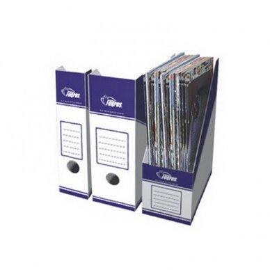 Kartoninis stovas dokumentams, A4, 250 x 100 x 330 mm