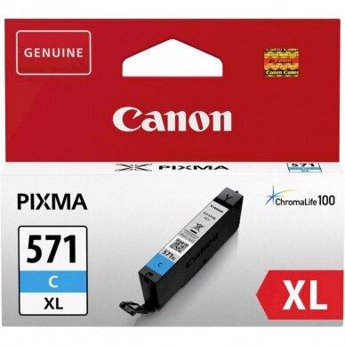 Kasetė Canon CLI-571 XL (0332C001) CY OEM