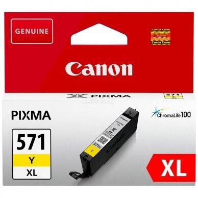 Kasetė Canon CLI-571 XL (0334C001) YL OEM