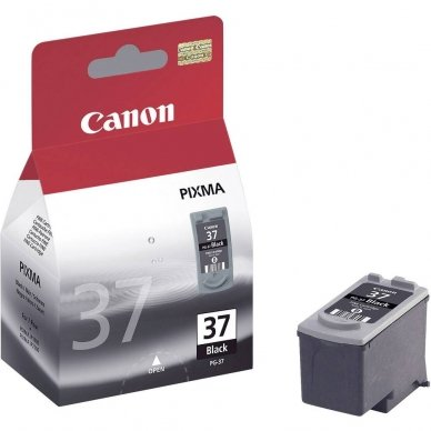 Kasetė Canon PG-37 (2145B001) BK 490 psl. OEM