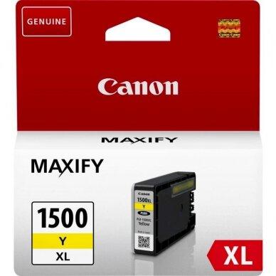Kasetė Canon PGI-1500 XL YL (9195B001) OEM
