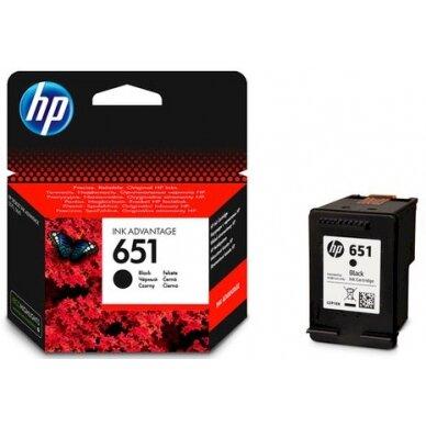 Kasetė HP No.651 (C2P10AE) BK OEM