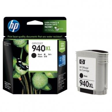 Kasetė HP No.940XL (C4906AE) BK EXP 2200 psl. OEM