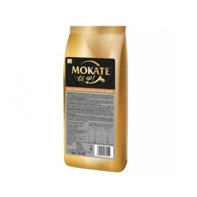 Kavos gėrimas MOKATE, Airiško kremo skonio, milteliais, 1 kg