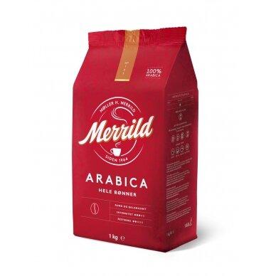 Kavos pupelės MERRILD, 1 kg