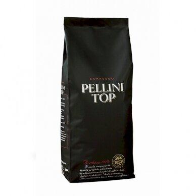 Kavos pupelės PELLINI TOP, 100 % Arabica, 1 kg