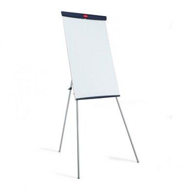 Konferencijų stovas NOBO Basic, trikojis, balta sp.