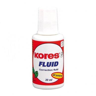 Korekcinis skystis KORES FLUID, 20 ml