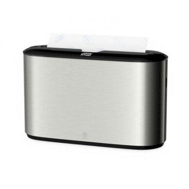 Laikiklis popieriniams rankšluosčiams TORK Xpress Countertop Multifold, 218 x 116 x 323 mm (460005)