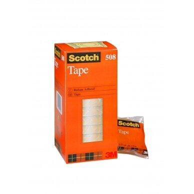 Lipni juosta SCOTCH 508, skaidri, 19mmx33m, 1 vnt.