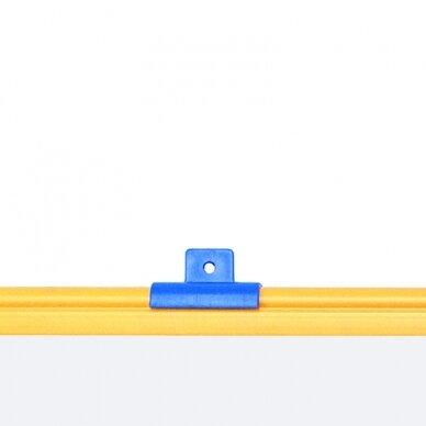 Magnetinė baltoji lenta BI-OFFICE SCHOOLMATE 90x60, spalvotas rėmas 2