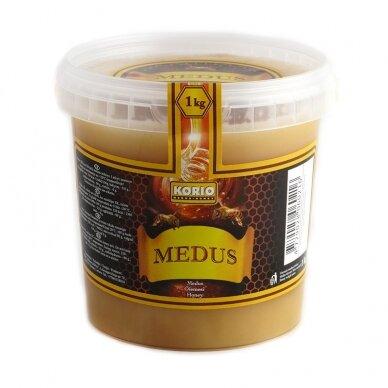 Medus, kibirėlyje, 1 kg