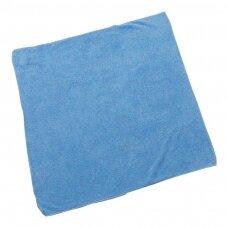 Mikropluošto audinys ABENA, 40x40 cm, mėlyna sp.