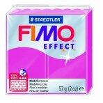 Modelinas FIMO EFFECT, 57 g, žvilganti baltų perlų sp.