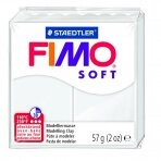 Modelinas FIMO SOFT, 57 g, balta sp.
