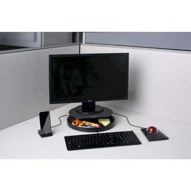 Monitoriaus stovas KENSINGTON SmartFit Spin2, juoda sp. 3