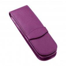 Odinis dėklas ONLINE CLASSIC, 2 rašikliams,violetinė sp.