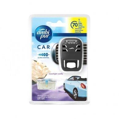 Oro gaiviklis automobiliams AMBI PUR Car Moonlight Vanilla, 7 ml